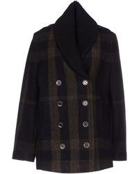 Burberry Brit Coat - Lyst