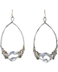 Alexis Bittar Jardin Mystã¨Re Vine Wrapped Link Earring silver - Lyst