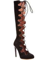 Tabitha Simmons Black Paxton Boot - Lyst