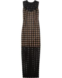Jonathan Saunders Molly Satinembroidered Tulle Gown - Lyst