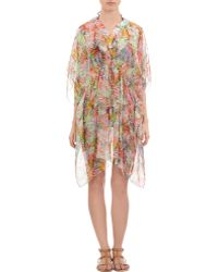 Saloni - Jungle-Print Kaftan - Lyst