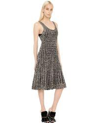 Proenza Schouler Viscose & Silk Crocheted Dress - Lyst
