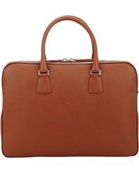 Barneys New York - Top-Zip Briefcase - Lyst