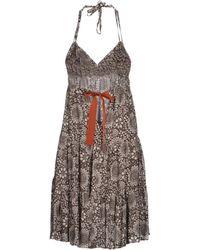 Jucca Short Dress - Lyst