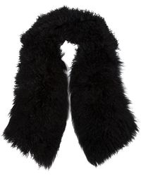 Urban Zen - Lamb Fur Scarf - Lyst