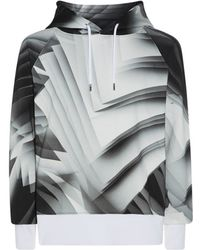 Christopher Kane Confused Pages Print Hoodie - Lyst