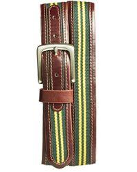 Jack Mason Brand | 'tailgate - Baylor Bears' Belt | Lyst