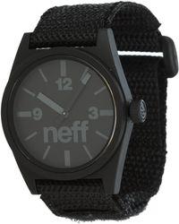 Neff - Daily Velcro Watch - Lyst