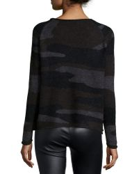 Townsen - Long-sleeve Camouflage Sweater - Lyst