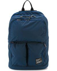 Mt.rainer Design Multi Pocket Backpack - Blue
