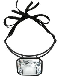 Rosie Assoulin - Centre Crystal Stiff Necklace - Lyst