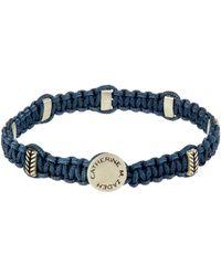 Zadeh Macramé Bracelet - Blue