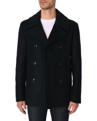 Closed Sailor Wool Cachemire Navy Peacoat - Lyst