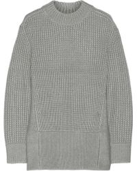 Reed Krakoff - Oversized Ribbed Wool And Silk-Blend Jumper - Lyst