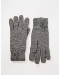 SELECTED - Ribbed Gloves - Lyst