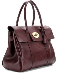Mulberry - Bayswater Leather Tote - Lyst