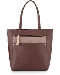 orYANY | Daphne Colorblock Tote Bag | Lyst