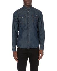 Diesel New-sonora Denim Shirt - Lyst