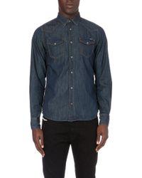 Diesel New-Sonora Denim Shirt - For Men blue - Lyst