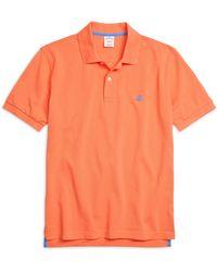Brooks Brothers Golden Fleece® Original Fit Performance Polo Shirt - Lyst
