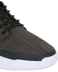 K1X - All Net Cotton Denim Sneakers - Lyst