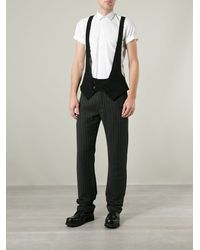 Ann Demeulemeester Victor Pinstriped Trousers - Lyst