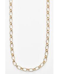 Roberto Coin 'Designer Gold' Link Necklace - Lyst
