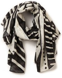Our Legacy Printed Scarf - Natural