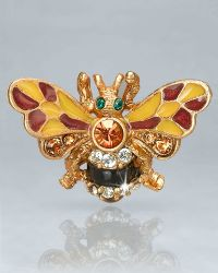 Jay Strongwater - Nigel Bumble Bee Pin - Lyst