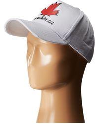 DSquared² Maple Leaf Baseball Cap - Lyst