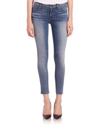 Hudson | Nico Ankle Skinny Jeans | Lyst