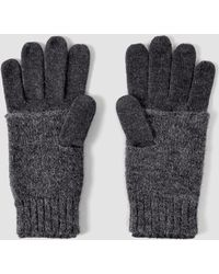 AllSaints - Fort Gloves - Lyst