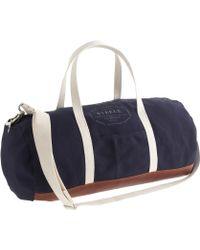 J.Crew - Steele Canvas Basket Co For Leathertrim Gym Bag - Lyst