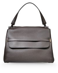 The Row Large Leather Bag - Lyst