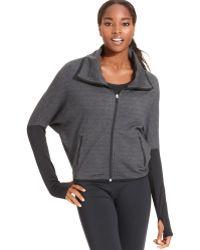 Nike Dolman-sleeve Funnel-neck Zip-front Jacket - Lyst