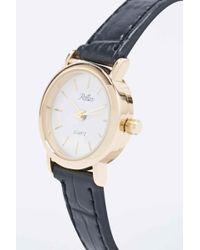 Reflex | Croc Black Strap Watch | Lyst