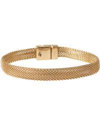Kenneth Cole Goldtone Mesh Bracelet - Metallic