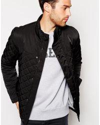 Esprit Quilted Jacket - Black