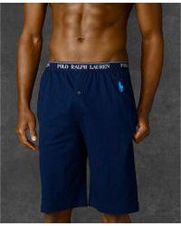 Ralph Lauren - Polo Mens Sleep Shorts - Lyst