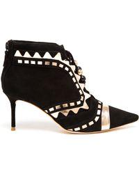 Sophia Webster Riko Suede Ankle Boots - Lyst
