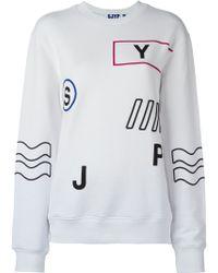 Steve J & Yoni P - Embroidered Details Sweatshirt - Lyst