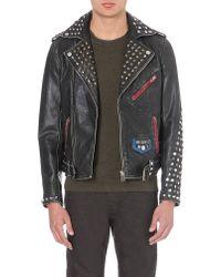 Diesel L-Sneh Leather Jacket - For Men - Lyst