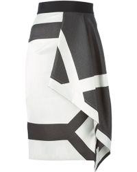 Roland Mouret 'Eaton' Skirt - Lyst