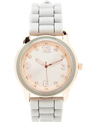 Forever 21 - Silicone-band Analog Watch - Lyst