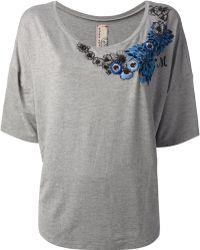 Antonio Marras Embroidered T-Shirt - Lyst