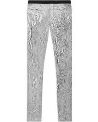 Helmut Lang Lightning Wash Elastic Legging - Lyst