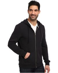 Alternative Organic Heavy French Terry Zip Hoodie - Lyst