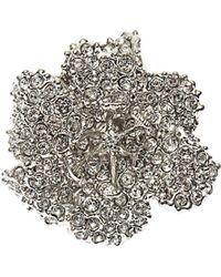 Alexander McQueen Crystalembellished Flower Ring - Lyst