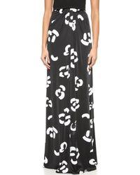 Issa Karen Printed Maxi Skirt - Lyst