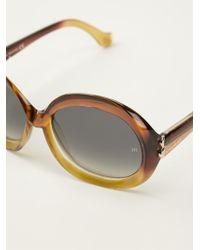 Balenciaga Round Frame Sunglasses - Lyst